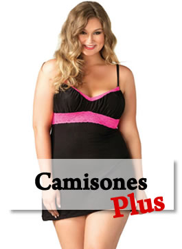 camisones tallas plus