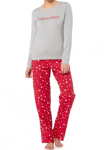 Pijama calvin klein estampado