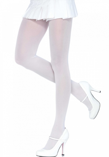 Panty opaco blanco