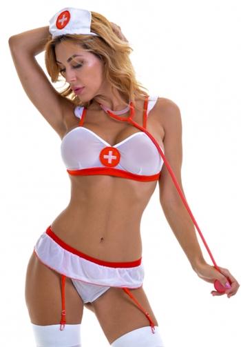 Emma conjunto disfraz enfermer