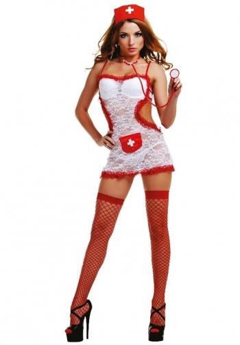 Disfraz sexy de enfermera 4 pi