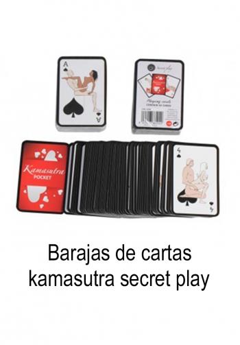 Baraja de cartas Kamasutra