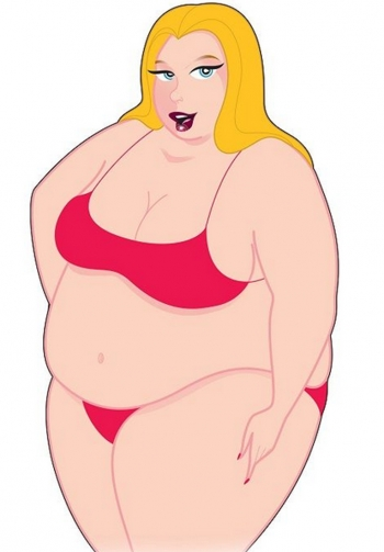 Mini muñeca hinchable gordita
