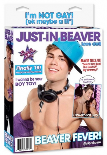 Muñeco hinchable just in beave