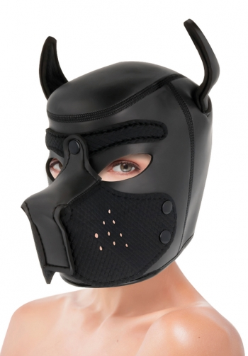 Mascara perro con hocico extra