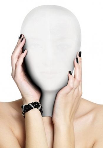 Mascara subjugation blanco