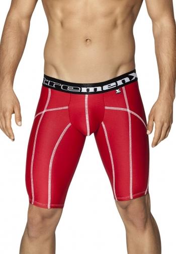 Boxer extra largo costuras roj