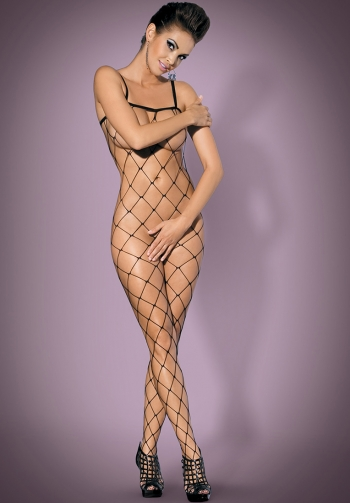 Foto mediana Bodystocking negro N102