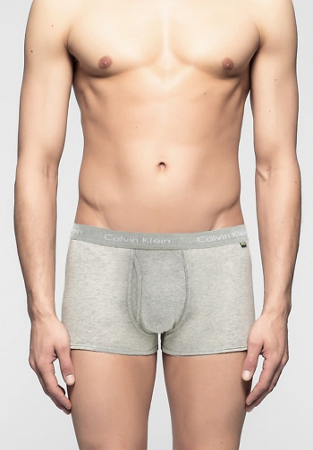 Boxer cotton stretch gris