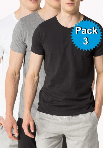 Pack 3 camisetas cotton