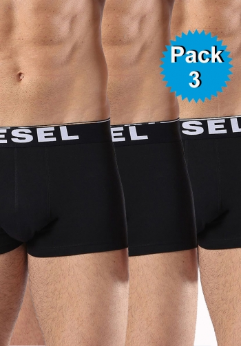 Pack 3 boxer negros