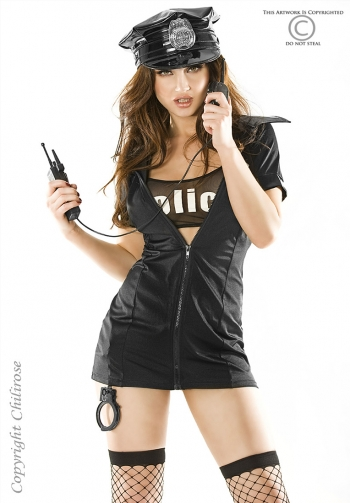 Disfraz de policia chilirose