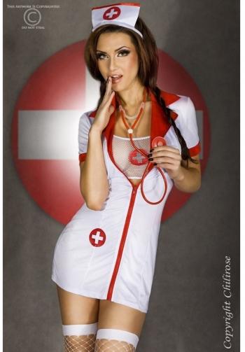 Disfraz de enfermera con estet