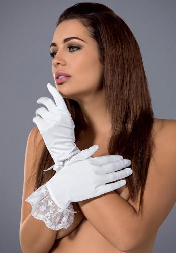 Etheria guantes blancos