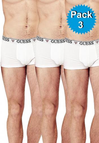 Pack 3 boxers blancos elastico