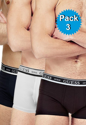 Pack 3 boxers colores guess