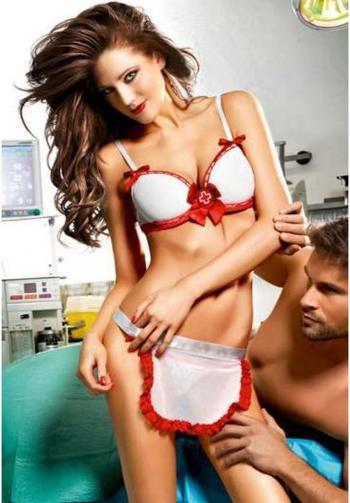 Enfermera sexy baci