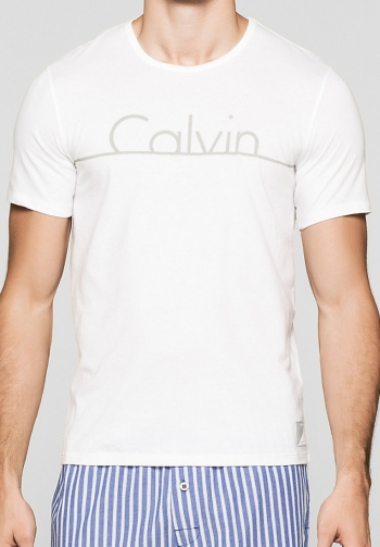 Camiseta CK ID blanca
