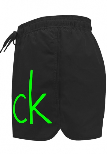 Shorts runner drawstring negro