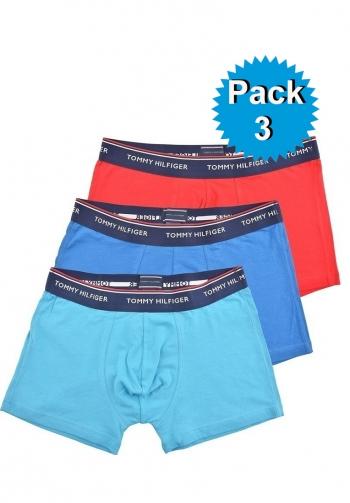 Pack 3 boxer corto algodon de
