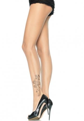 Panty nude efecto tatuaje