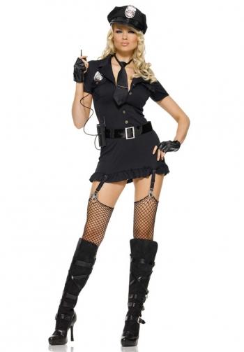 Disfraz de policia sexy leg