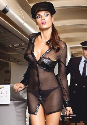 Disfraz de comandante sexy