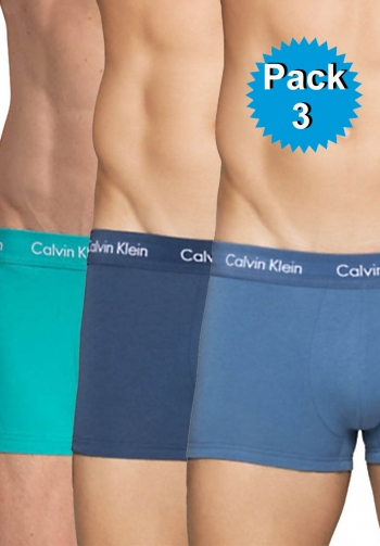 Boxer pack 3 cotton stretch de