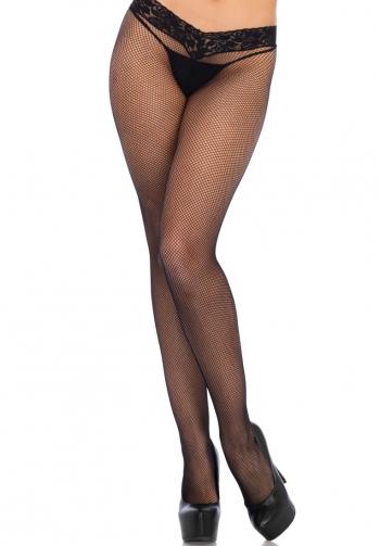 Panty con bordados de encaje