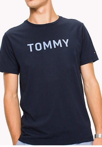 Camiseta azul tommy