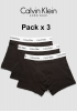 Foto pequeña 2 Pack 3 Boxer Cotton Stretch negros
