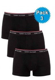 Pack 3 boxer negro Cotton prem