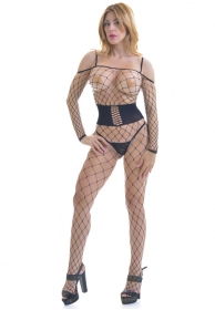 Emiliana bodystocking negro