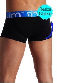 Boxer light negro realza glute