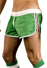 Athletic shinie short verde