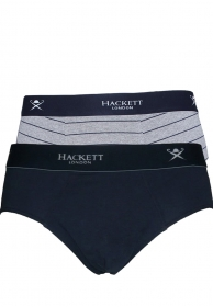Charlie brief 2pack navy grey