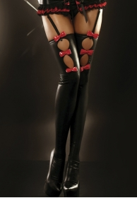 Flame Stockings black
