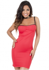 Dress daring rojo