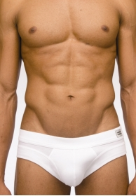 Pure brief white