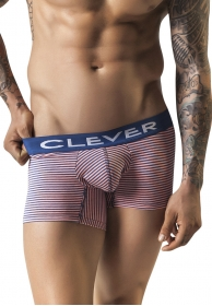 Navy clever boxer coral