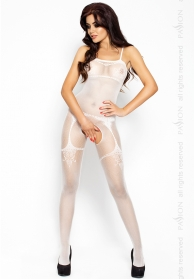 Catsuit blanco red bs006
