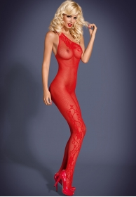 Bodystocking F203 rojo