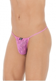 Pouch string sissy rosa