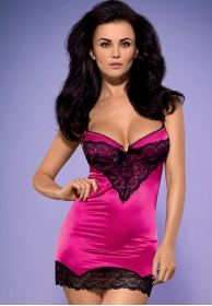Roseberry chemise pink plus