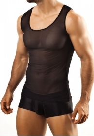 Camiseta sheer tank 21 negra