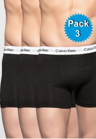 Pack 3 Boxer Cotton Stretch ne