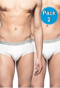 2 pack briefs white ck one