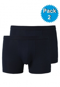 Pack 2 boxer pure stretch cott