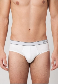 Slip blanco logo lateral pure