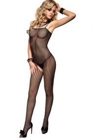 Bodystocking de tipo crochet c
